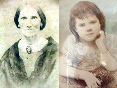 Mary Bugg Trousdale and grand daughter Mary